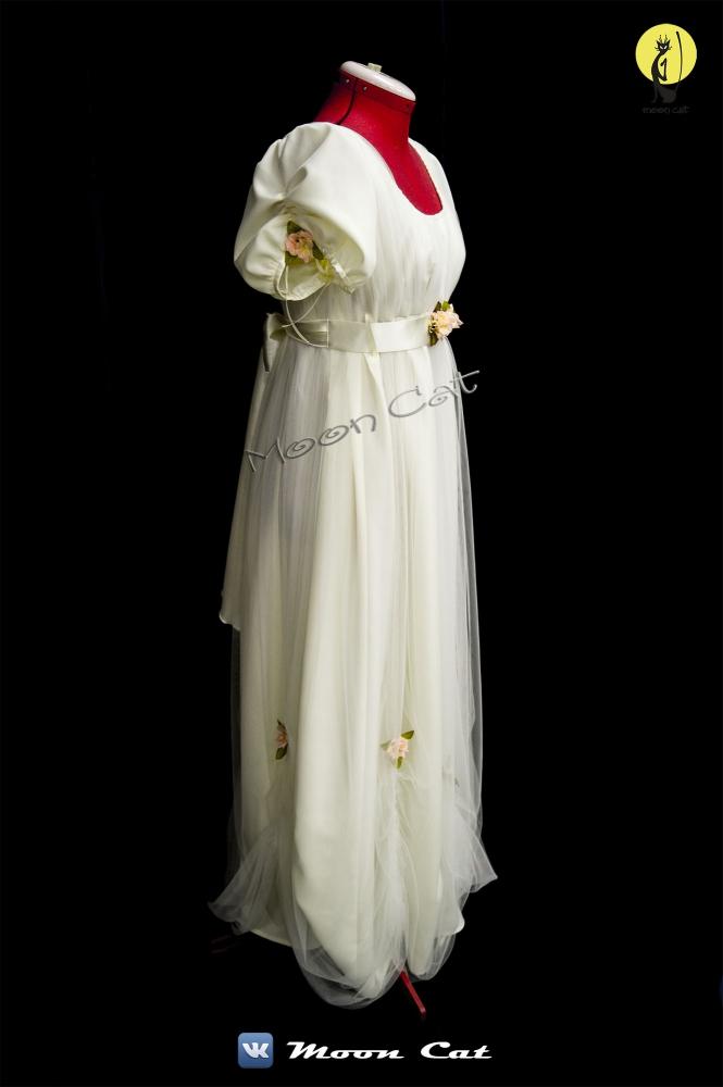 платье 19 столетия
