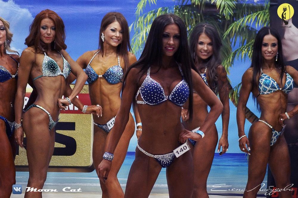 Елена Лабудова серебренная призёрка турнира Bikini Stars 2015г. в Моск