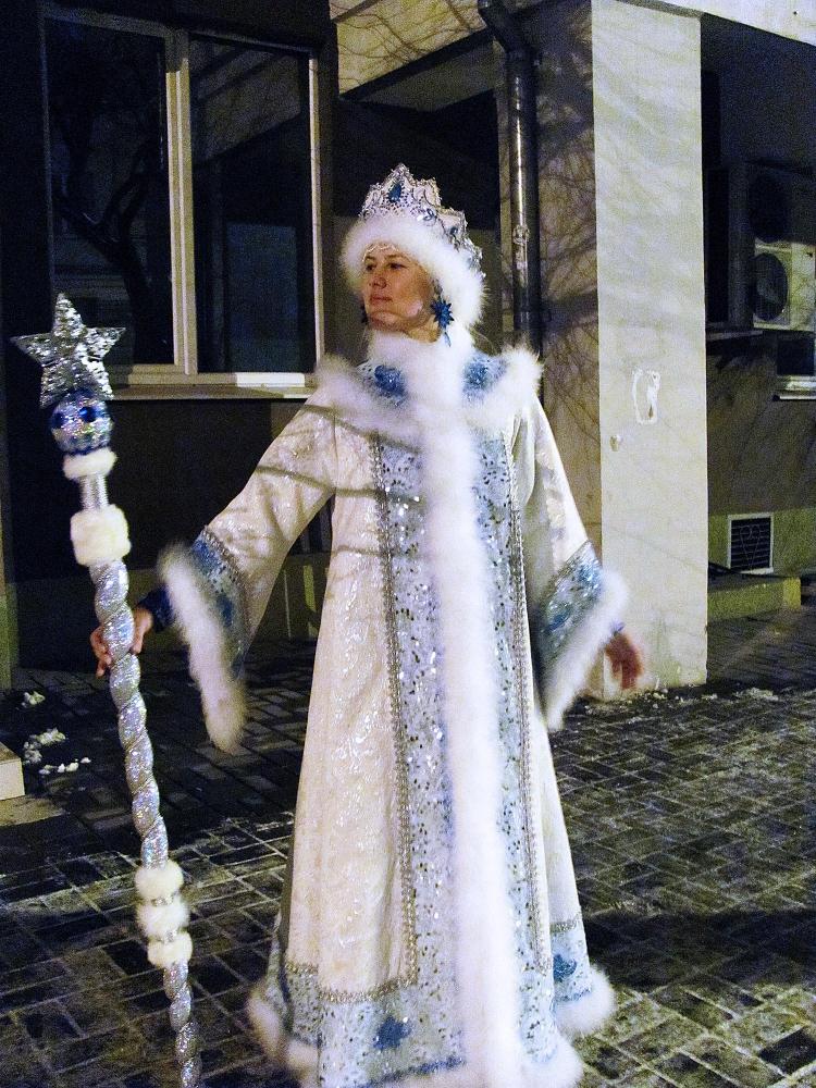 Пошив костюма Снегурочки