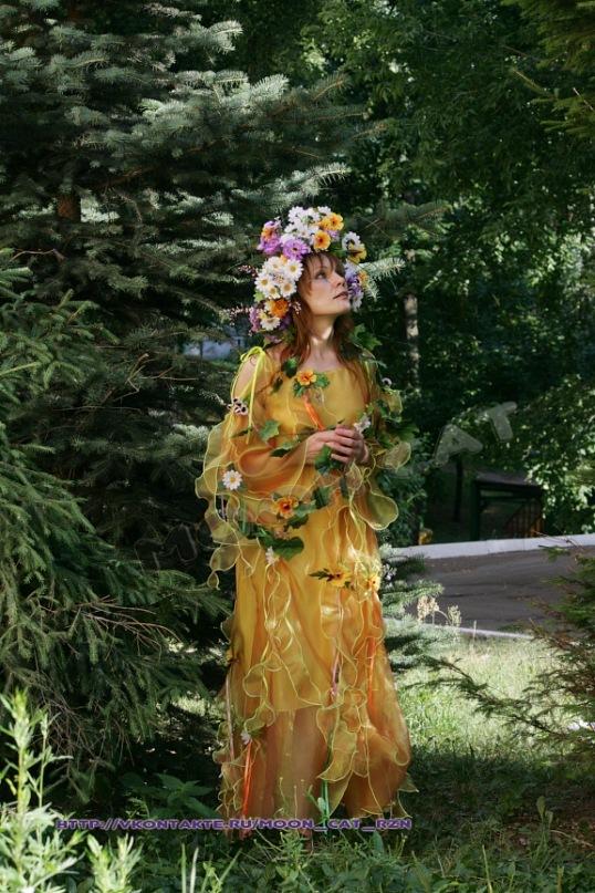Пошив костюма Феи леса