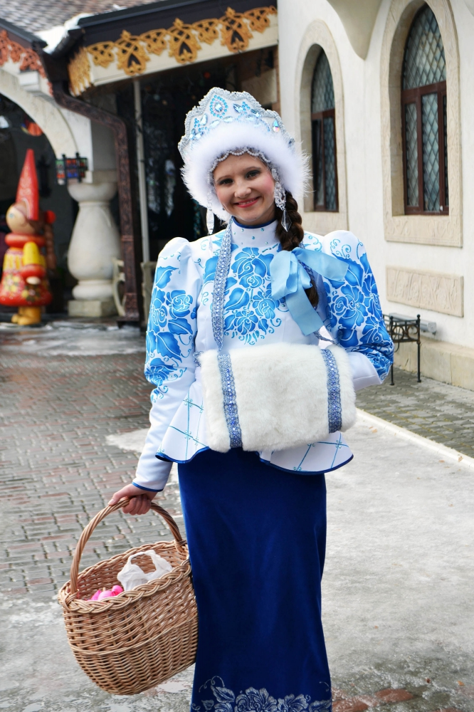 Праздничный костюм Зимы