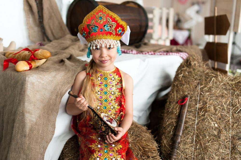 Детский костюм Русская красавица