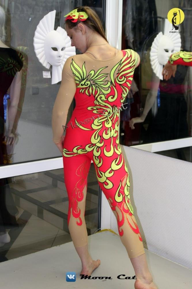 Екатерина Шустова -  Воздушная гимнастка  на полотнах