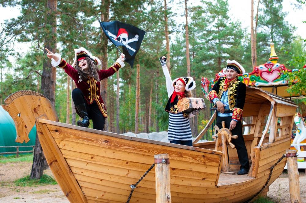 Пираты, пошив костюмированных шоу